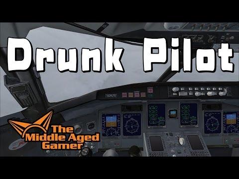 Drunk Pilot - Houston to San Antonio - FSX