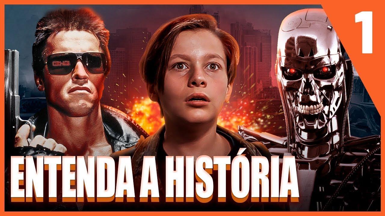 Saga Exterminador do Futuro | A História dos Filmes do Terminator | PT. 1