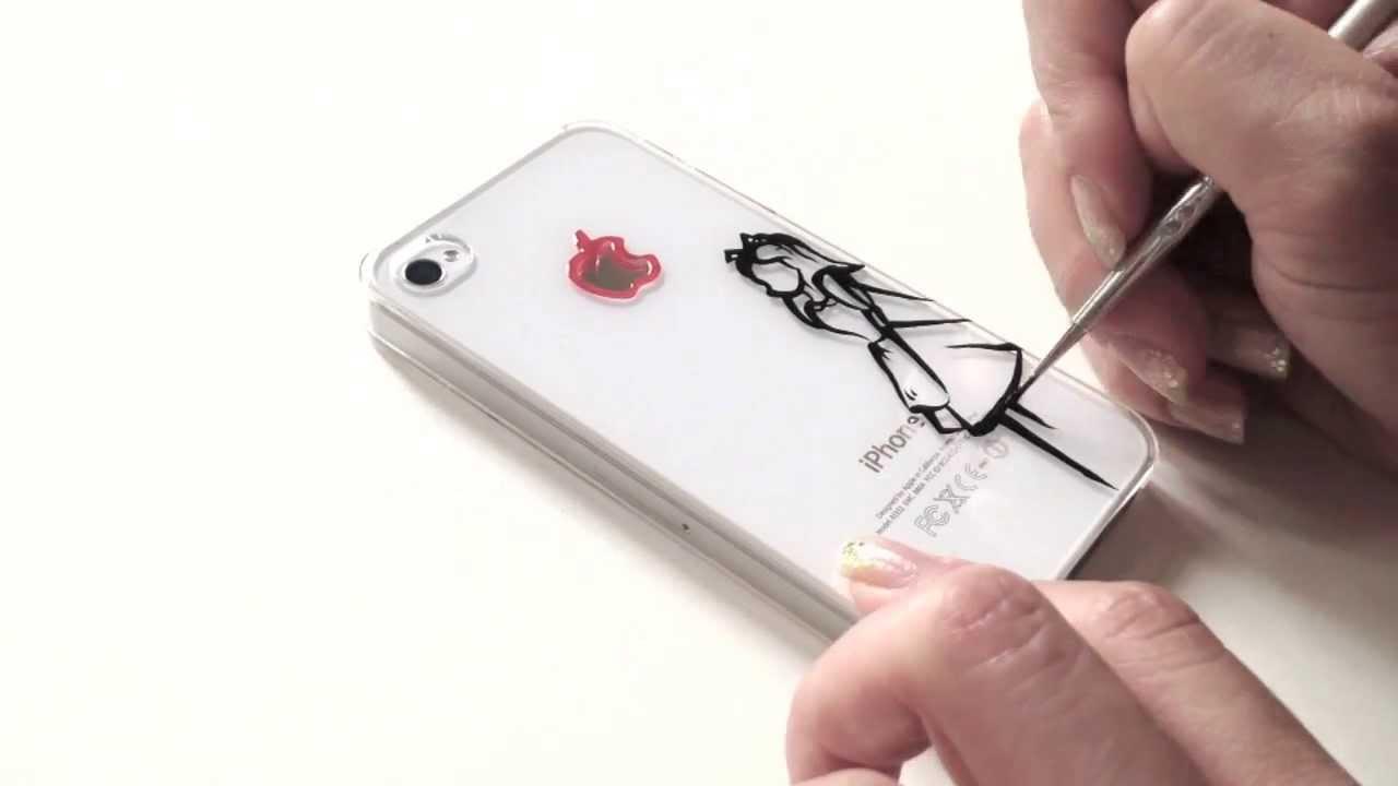 super popular 7c1a6 31d9a DIY : speed ink drawing on phone case | Alice in Wonderland