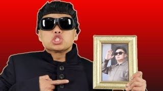 Repeat youtube video KIM JONG STYLE!! - PSY PARODY COMMENTS!!!