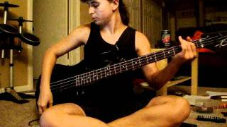 311 creatures for a while 4 string bass cover