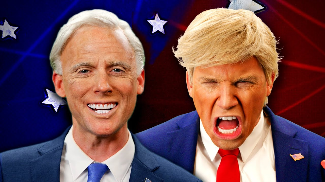 Donald Trump vs Joe Biden. Epic Rap Battles Of History