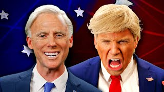 Donald Trump vs J๐e Biden. Epic Rap Battles Of History