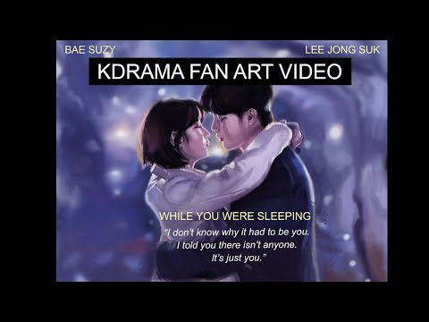 LEE JONG SUK KDRAMA [2019 FAN ART]  WHILE YOU WERE SLEEPING