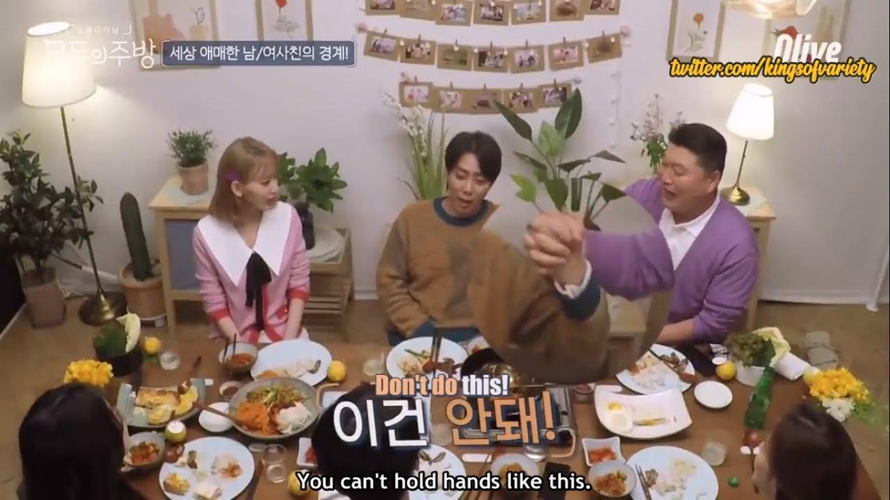 [ENG SUB/720P] Everyone's Kitchen - Eun Jiwon on the boundaries between two friends
