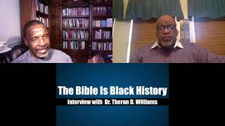Full Interview with  Dr. Theron D.  Williams Author Of The Bible Is Black History