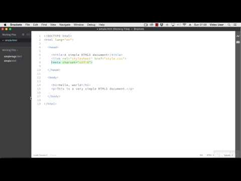 Modern Web Dev With HTML5 And CSS Tutorial   Setting Up Your Workspace