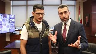 Chahe Yerevanian Welcomes Phoenix World Champion Youssef Boughanem