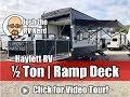 UPDATED 2019 Cherokee 255RR Half Ton Toy Hauler Ramp Patio Fifth Wheel RV