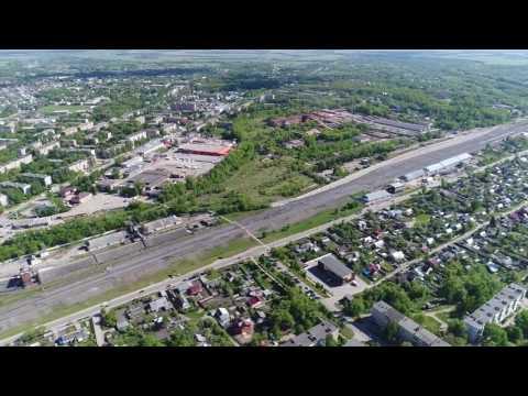 Город Щёкино, Тульской области. Съёмка с квадрокоптера