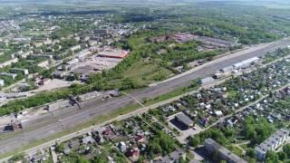 Місто Щекино, Тульської області. Зйомка з квадрокоптера