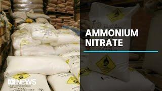 Ammonium nitrate stockpiles in Australia called into question following Beirut blast | ABC News