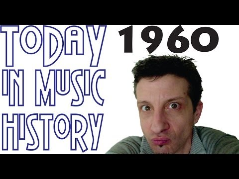 Today in Music History - 1960