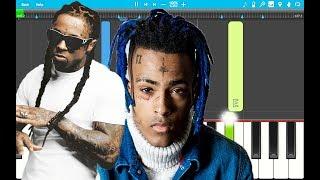 Lil Wayne - Dont Cry feat. XXXTENTACION PIANO Tutorial EASY (Piano Cover)