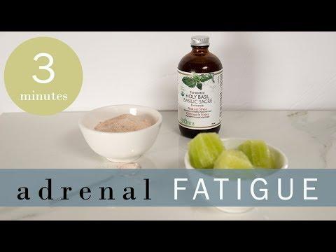 Holy Basil, Lime And Himalayan Salt Tonic For Adrenal Fatigue