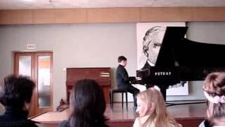 И.С.Бах Двухголосная инвенция (B-dur) J.S.Bach Two-part Invention
