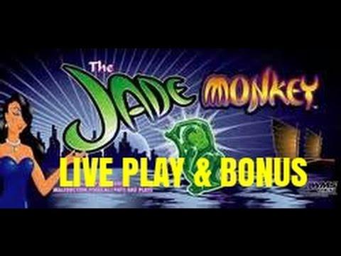 High Limit Jade Monkey Slot Machine Bonus With Desiree