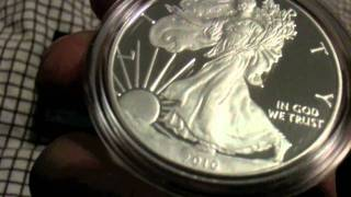 American Silver Eagle 2010 Proof Coin