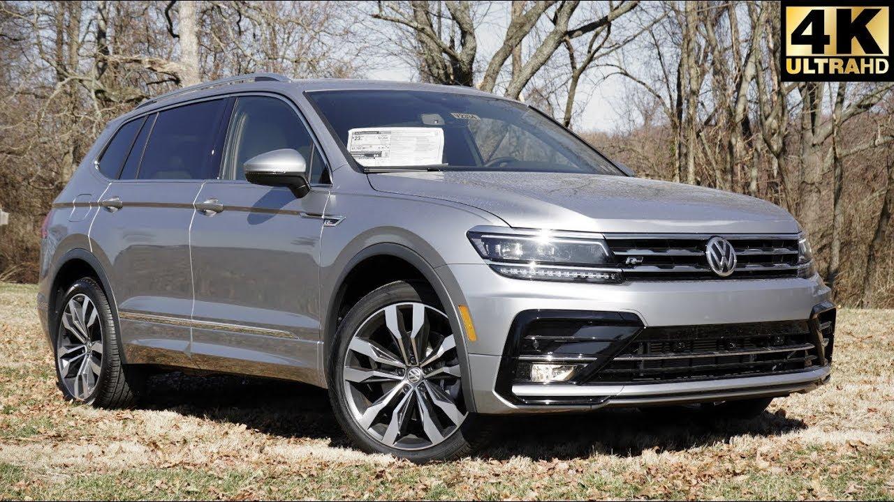 VW Tiguan Facelift (2020) - YouTube   2020 Volkswagen Tiguan Suv