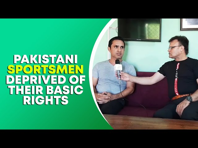 Pakistani Sportsmen Deprived Of Their Basic Rights