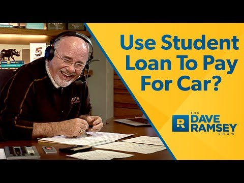 Use Student Loan To Pay For New Car?