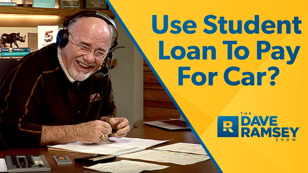 Use Student Loan To Pay For New Car? - YouTube