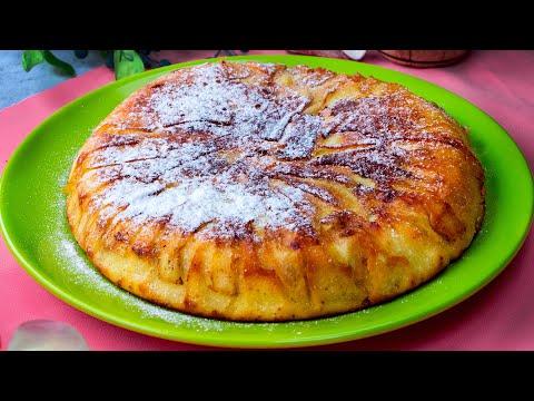 gâteau-aux-pommes-prêt-en-20-minutes-à-la-poêle.-délicat,-parfumé-et-savoureux!|-cookrate---france