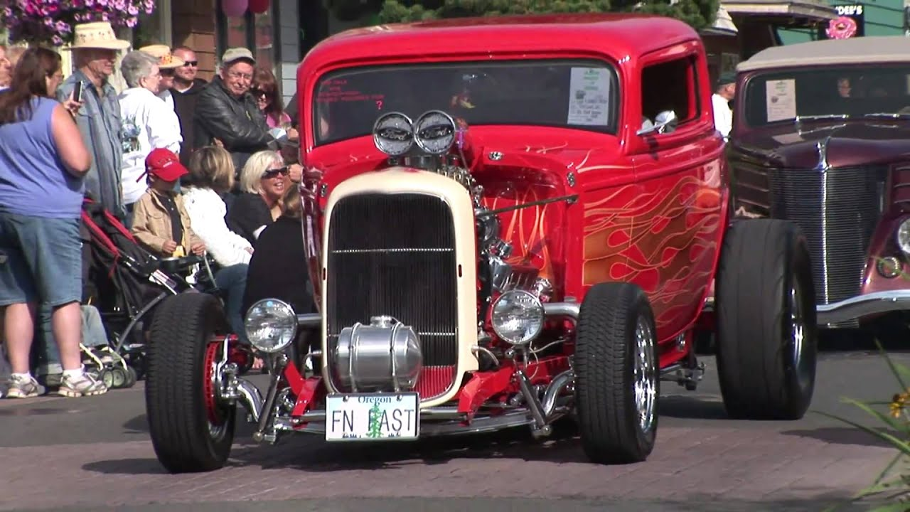 Wheels N Waves Car Show Seaside Oregon By SeasideOregoncom - Seaside oregon car show