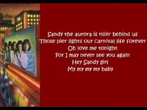 The Hollies - Sandy (orchestra + lyrics 1975)