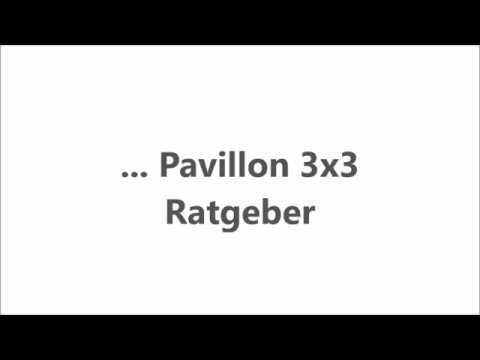 Extremely Pavillon 3x3 - Ratgeber, Vergleiche, Tipps - pavillon-kaufen.de  XS61