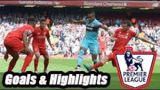Liverpool vs West Ham - Goals & Highlights - Premier League 18-19
