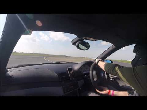 Mess about spin out at Bedford Autodrome