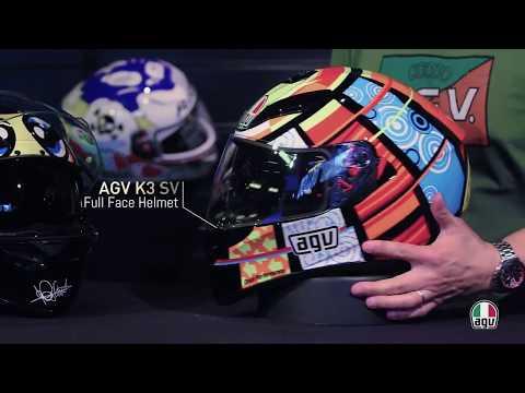 hqdefault - Conheça o Capacete AGV K3 SV