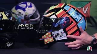 Review Capacete AGV K-3 SV