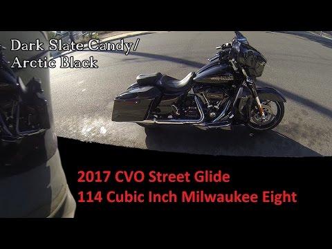 2017 CVO Street Glide First Ride & Review │Harley Davidson 114 CI Milwaukee Eight Engine