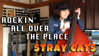 ROCKIN' ALL OVER THE PLACE / STRAY CATS (LEE ROCKER)【DOUBLE BASS COVER】