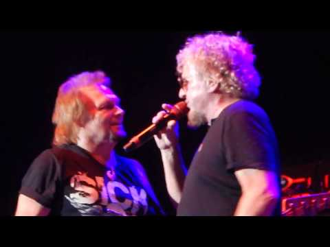 Sammy Hagar & The Circle Why Cant This be Love 9/10/17 Glen Helen Amphitheater