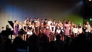 """Großer Chor des Graf-Rasso-Gymnasiums Sommerkonzert 2012 """"Rolling In The Deep"""""""