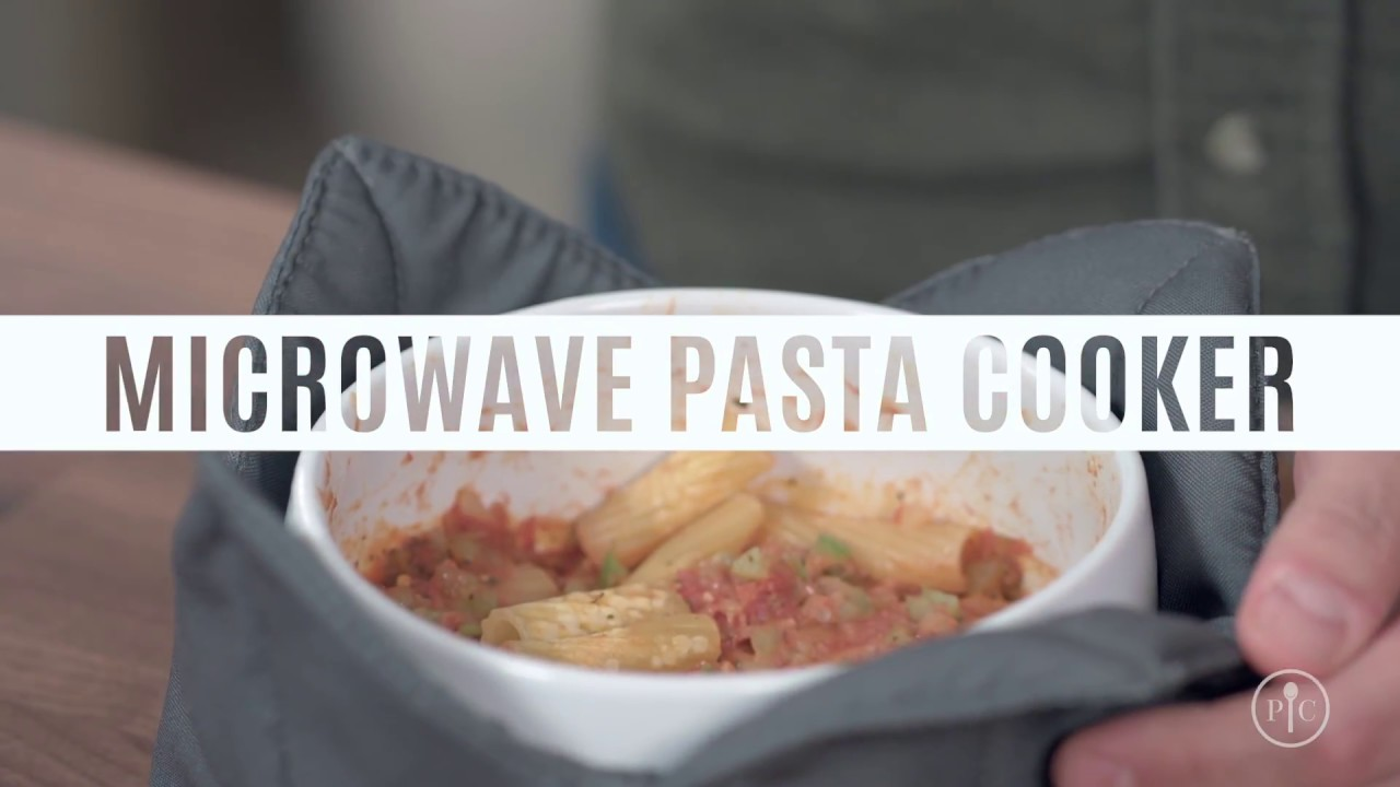 How To Make Pasta In The Microwave Pampered Chef Youtube