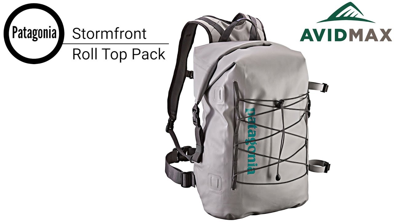 dd9810e328e Patagonia Stormfront Roll Top Pack Review   AvidMax - YouTube