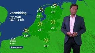 Nationaal Hitteplan in heel Nederland. Temperaturen boven de 30 graden.