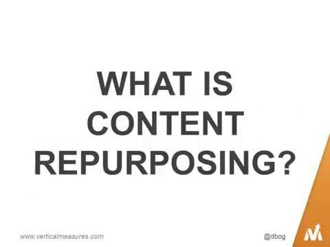 Content Repurposing: How to Lower Marketing Costs and Expand Audience Reach