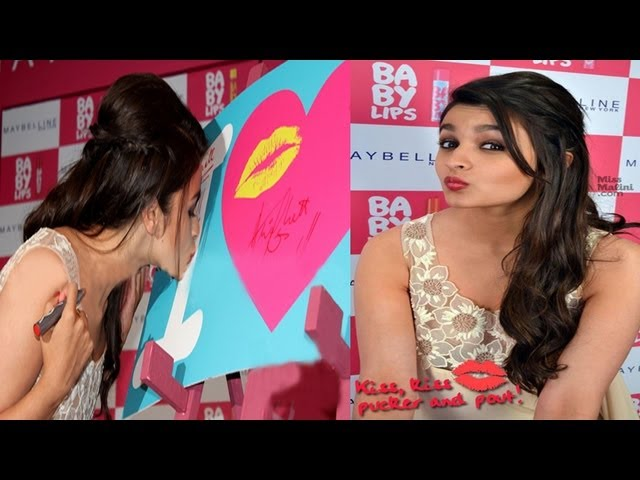Alia Bhatt Launches 'Baby Lips Kiss' Song Travel Video