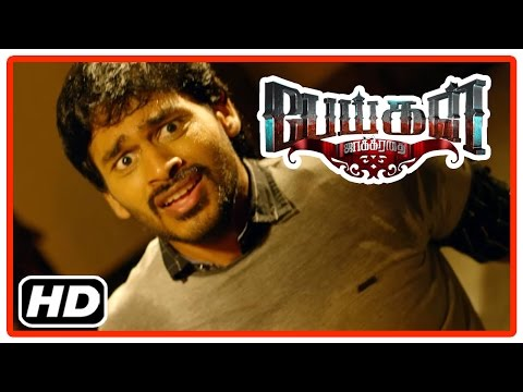 Peigal Jaakirathai Tamil Movie | Scenes | Jeeva haunted by ghosts | Thambi Ramaiah