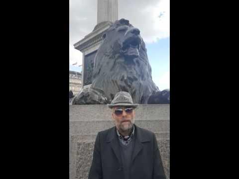 I live in Trafalgar Square!