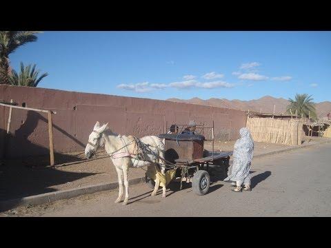 [Slow TV] Motorcycle Ride - Morocco - Tiznit to Tata via Bouizakarne