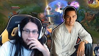 IMAQTPIE GOT A MESSAGE FROM MARK MERRILL FOR HIS CHAT BAN | LoL Moments