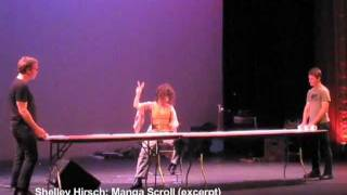 Shelley Hirsch: Manga Scroll (excerpt) - San Francisco, 9/9/11