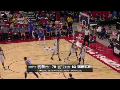 Philadelphia 76ers vs Brooklyn Nets | July 14, 2016 | NBA Las Vegas Summer League 2016