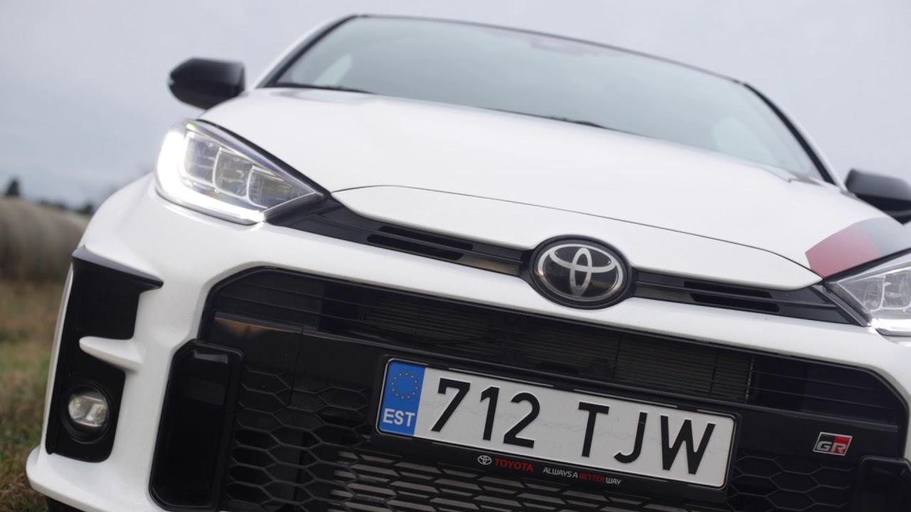 Toyota Yaris GR and Mitsubishi Evo 3